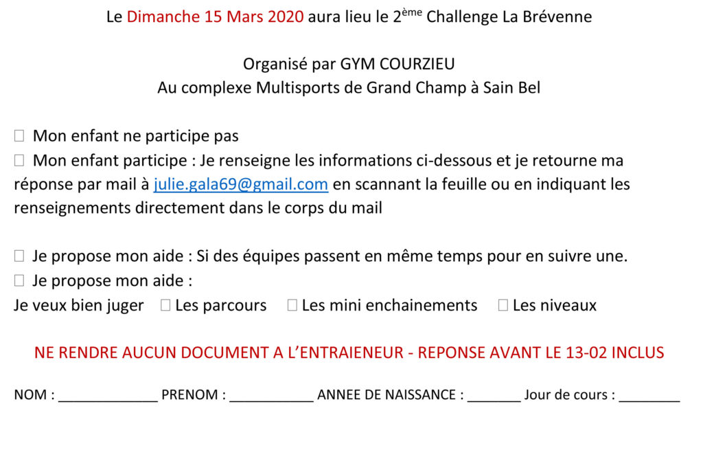 Inscription 2eme brevenne